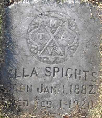 SPIGHTS, ELLA - Pulaski County, Arkansas | ELLA SPIGHTS - Arkansas Gravestone Photos