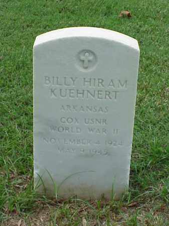 KUEHNERT (VETERAN WWII), BILLY HIRAM - Pulaski County, Arkansas | BILLY HIRAM KUEHNERT (VETERAN WWII) - Arkansas Gravestone Photos