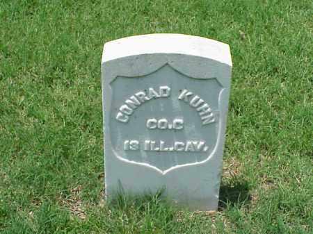 KUHN (VETERAN UNION), CONRAD - Pulaski County, Arkansas   CONRAD KUHN (VETERAN UNION) - Arkansas Gravestone Photos