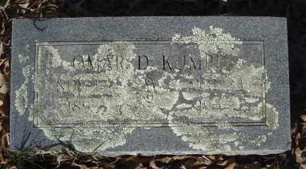 KUMPE, OMER D - Pulaski County, Arkansas | OMER D KUMPE - Arkansas Gravestone Photos