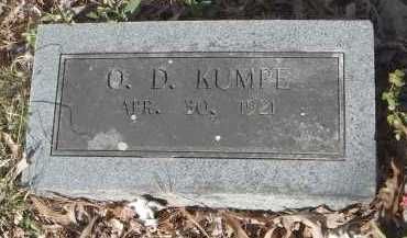 KUMPE, O. D. - Pulaski County, Arkansas | O. D. KUMPE - Arkansas Gravestone Photos
