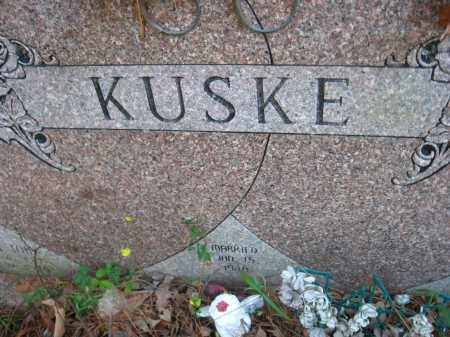 KUSKE, VIOLET MAY - Pulaski County, Arkansas | VIOLET MAY KUSKE - Arkansas Gravestone Photos