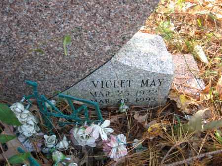 KUSKE, VIOLET MAY (CLOSEUP) - Pulaski County, Arkansas | VIOLET MAY (CLOSEUP) KUSKE - Arkansas Gravestone Photos