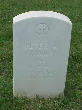 KUTHEIS (VETERAN WWI), PETER A - Pulaski County, Arkansas | PETER A KUTHEIS (VETERAN WWI) - Arkansas Gravestone Photos