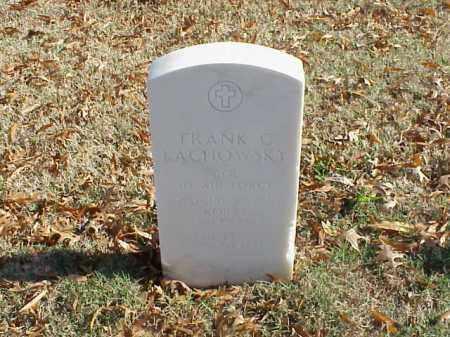 LACHOWSKY (VETERAN 3 WARS), FRANK C - Pulaski County, Arkansas   FRANK C LACHOWSKY (VETERAN 3 WARS) - Arkansas Gravestone Photos