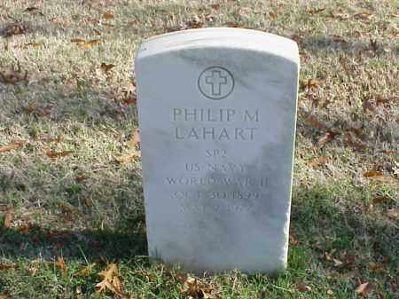 LAHART (VETERAN WWII), PHILIP M - Pulaski County, Arkansas   PHILIP M LAHART (VETERAN WWII) - Arkansas Gravestone Photos