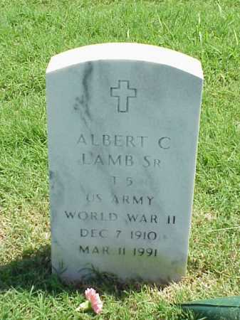 LAMB, SR (VETERAN WWII), ALBERT C - Pulaski County, Arkansas | ALBERT C LAMB, SR (VETERAN WWII) - Arkansas Gravestone Photos