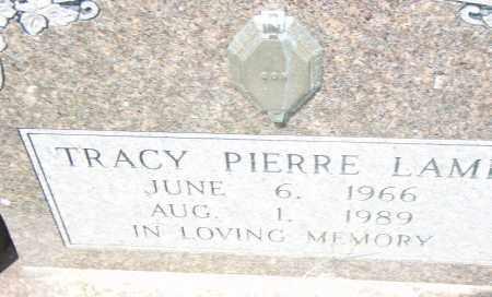 LAMB, TRACY  PIERRE - Pulaski County, Arkansas   TRACY  PIERRE LAMB - Arkansas Gravestone Photos