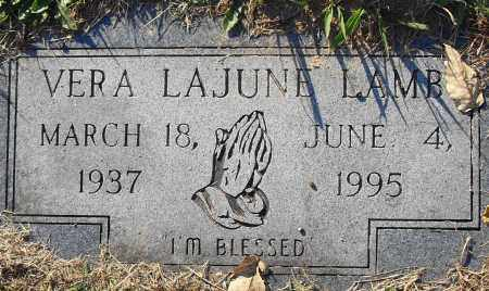 LAMB, VERA LAJUNE - Pulaski County, Arkansas | VERA LAJUNE LAMB - Arkansas Gravestone Photos