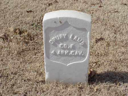 LAMB (VETERAN UNION), DRURY - Pulaski County, Arkansas | DRURY LAMB (VETERAN UNION) - Arkansas Gravestone Photos
