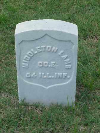 LAMB (VETERAN UNION), MIDDLETON - Pulaski County, Arkansas   MIDDLETON LAMB (VETERAN UNION) - Arkansas Gravestone Photos
