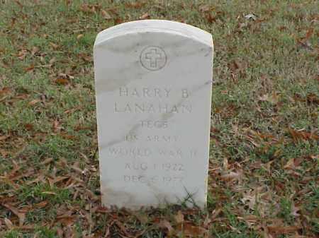 LANAHAN (VETERAN WWII), HARRY B - Pulaski County, Arkansas | HARRY B LANAHAN (VETERAN WWII) - Arkansas Gravestone Photos