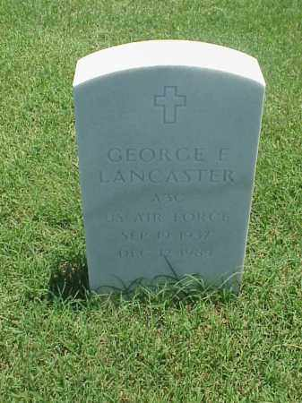 LANCASTER (VETERAN), GEORGE E - Pulaski County, Arkansas | GEORGE E LANCASTER (VETERAN) - Arkansas Gravestone Photos