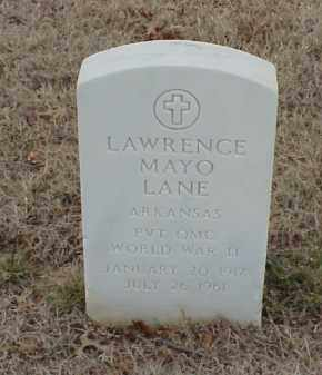 LANE  (VETERAN WWII), LAWRENCE MAYO - Pulaski County, Arkansas | LAWRENCE MAYO LANE  (VETERAN WWII) - Arkansas Gravestone Photos