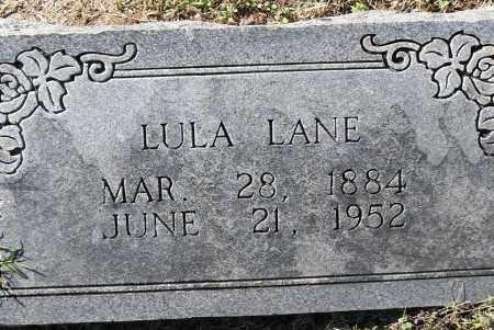 LANE, LULA - Pulaski County, Arkansas   LULA LANE - Arkansas Gravestone Photos