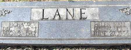 LANE, HELEN - Pulaski County, Arkansas   HELEN LANE - Arkansas Gravestone Photos