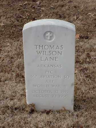LANE (VETERAN WWII), THOMAS WILSON - Pulaski County, Arkansas   THOMAS WILSON LANE (VETERAN WWII) - Arkansas Gravestone Photos