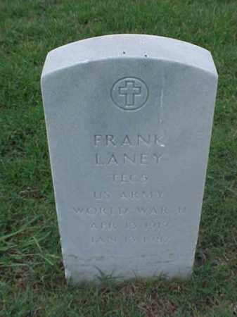 LANEY (VETERAN WWII), FRANK - Pulaski County, Arkansas | FRANK LANEY (VETERAN WWII) - Arkansas Gravestone Photos