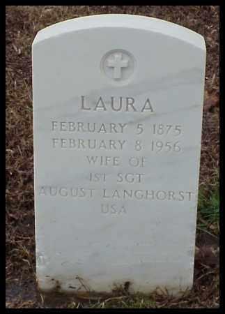 LANGHORST, LAURA - Pulaski County, Arkansas   LAURA LANGHORST - Arkansas Gravestone Photos