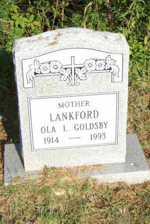 GOLDSBY LANKFORD, OLA L - Pulaski County, Arkansas | OLA L GOLDSBY LANKFORD - Arkansas Gravestone Photos