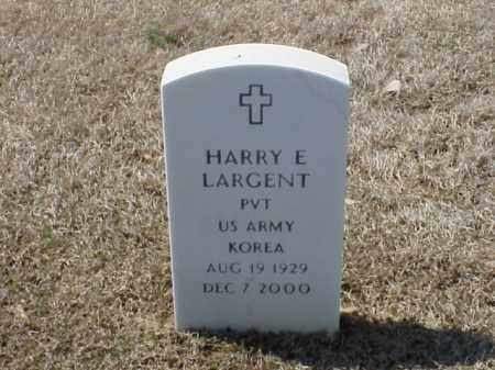 LARGENT (VETERAN KOR), HARRY E - Pulaski County, Arkansas | HARRY E LARGENT (VETERAN KOR) - Arkansas Gravestone Photos