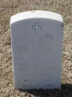 LARQUE (VETERAN 2 WARS), C W - Pulaski County, Arkansas | C W LARQUE (VETERAN 2 WARS) - Arkansas Gravestone Photos