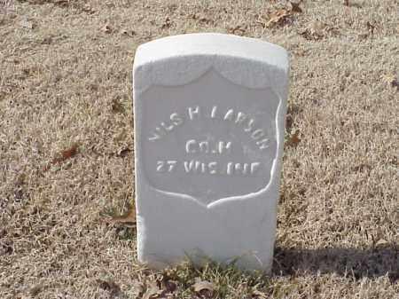 LARSON (VETERAN UNION), NILS H - Pulaski County, Arkansas   NILS H LARSON (VETERAN UNION) - Arkansas Gravestone Photos