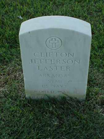 LASTER (VETERAN WWII), CLIFTON JEFFERSON - Pulaski County, Arkansas   CLIFTON JEFFERSON LASTER (VETERAN WWII) - Arkansas Gravestone Photos