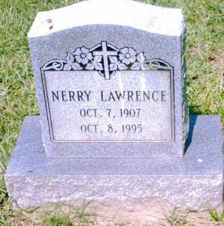 LAWRENCE, NERRY - Pulaski County, Arkansas | NERRY LAWRENCE - Arkansas Gravestone Photos