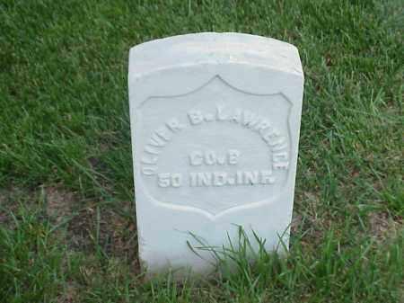 LAWRENCE (VETERAN UNION), OLIVER B - Pulaski County, Arkansas   OLIVER B LAWRENCE (VETERAN UNION) - Arkansas Gravestone Photos