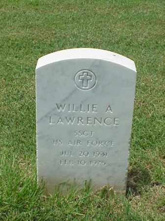 LAWRENCE (VETERAN VIET), WILLIE A - Pulaski County, Arkansas | WILLIE A LAWRENCE (VETERAN VIET) - Arkansas Gravestone Photos