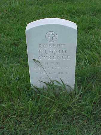LAWRENCE (VETERAN WWII), ROBERT TILFORD - Pulaski County, Arkansas | ROBERT TILFORD LAWRENCE (VETERAN WWII) - Arkansas Gravestone Photos