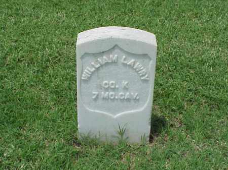 LAWRY (VETERAN UNION), WILLIAM - Pulaski County, Arkansas | WILLIAM LAWRY (VETERAN UNION) - Arkansas Gravestone Photos