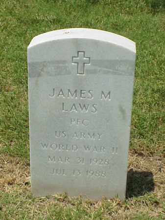 LAWS (VETERAN WWII), JAMES M - Pulaski County, Arkansas | JAMES M LAWS (VETERAN WWII) - Arkansas Gravestone Photos