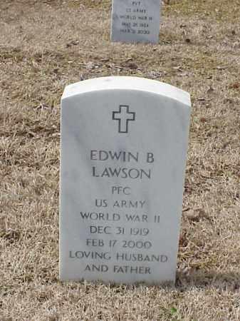 LAWSON  (VETERAN WWII), EDWIN B - Pulaski County, Arkansas | EDWIN B LAWSON  (VETERAN WWII) - Arkansas Gravestone Photos