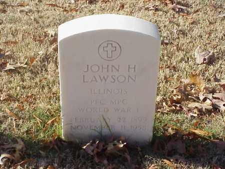 LAWSON (VETERAN WWI), JOHN H - Pulaski County, Arkansas | JOHN H LAWSON (VETERAN WWI) - Arkansas Gravestone Photos