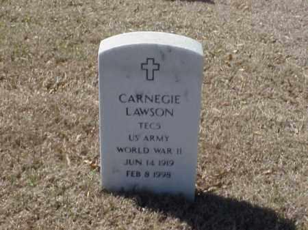 LAWSON (VETERAN WWII), CARNEGIE - Pulaski County, Arkansas | CARNEGIE LAWSON (VETERAN WWII) - Arkansas Gravestone Photos