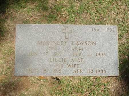 LAWSON (VETERAN WWII), MCKINLEY - Pulaski County, Arkansas | MCKINLEY LAWSON (VETERAN WWII) - Arkansas Gravestone Photos