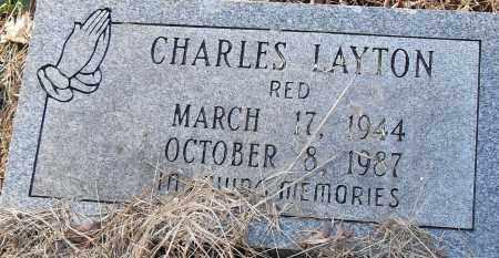 "LAYTON, CHARLES ""RED"" - Pulaski County, Arkansas | CHARLES ""RED"" LAYTON - Arkansas Gravestone Photos"