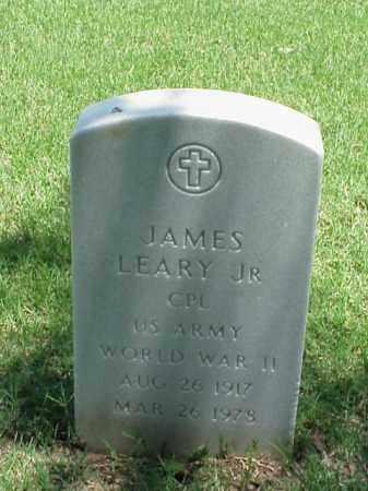 LEARY, JR (VETERAN WWII), JAMES - Pulaski County, Arkansas | JAMES LEARY, JR (VETERAN WWII) - Arkansas Gravestone Photos