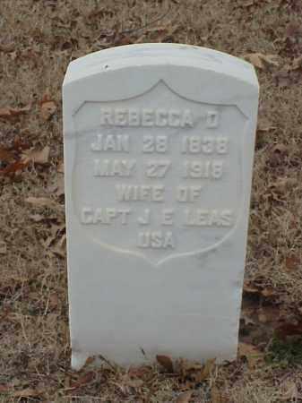 LEAS, REBECCA - Pulaski County, Arkansas | REBECCA LEAS - Arkansas Gravestone Photos
