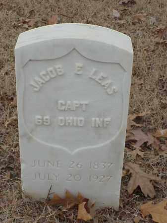 LEAS (VETERAN UNION), JACOB E - Pulaski County, Arkansas | JACOB E LEAS (VETERAN UNION) - Arkansas Gravestone Photos
