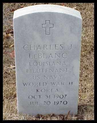 LEBLANC (VETERAN  2 WARS), CHARLES JOSEPH - Pulaski County, Arkansas   CHARLES JOSEPH LEBLANC (VETERAN  2 WARS) - Arkansas Gravestone Photos