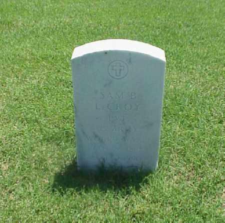 LECROY (VETERAN WWI), SAM B - Pulaski County, Arkansas | SAM B LECROY (VETERAN WWI) - Arkansas Gravestone Photos