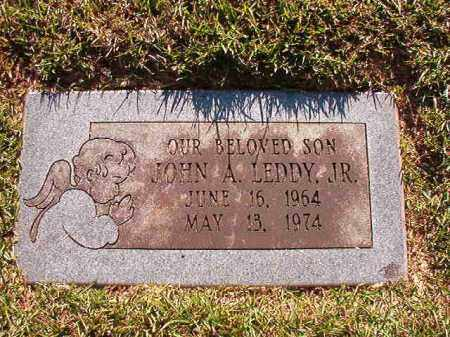 LEDDY, JR, JOHN A - Pulaski County, Arkansas | JOHN A LEDDY, JR - Arkansas Gravestone Photos