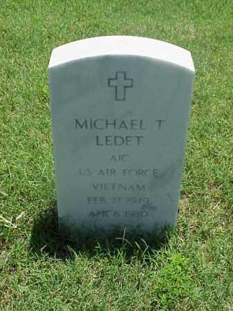 LEDET (VETERAN VIET), MICHAEL T - Pulaski County, Arkansas   MICHAEL T LEDET (VETERAN VIET) - Arkansas Gravestone Photos