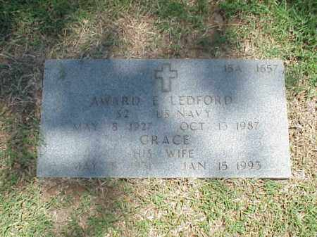 LEDFORD, GRACE - Pulaski County, Arkansas | GRACE LEDFORD - Arkansas Gravestone Photos