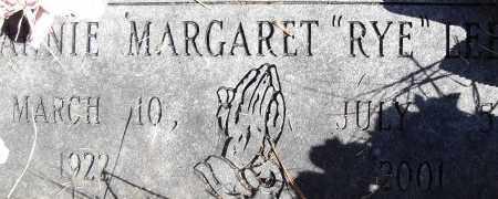 LEE, ANNIE MARGARET - Pulaski County, Arkansas   ANNIE MARGARET LEE - Arkansas Gravestone Photos