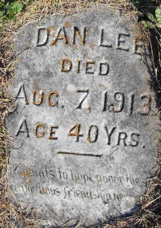 LEE, DAN - Pulaski County, Arkansas | DAN LEE - Arkansas Gravestone Photos
