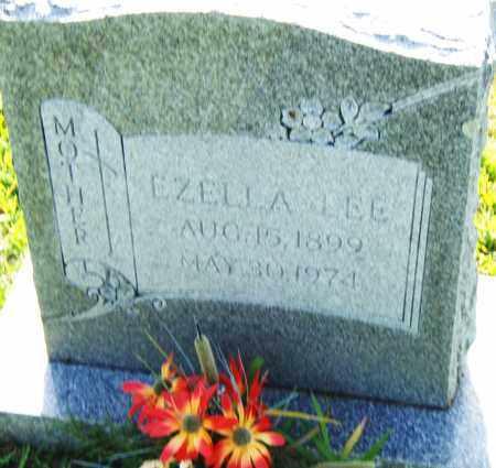 LEE, EZELLA - Pulaski County, Arkansas | EZELLA LEE - Arkansas Gravestone Photos